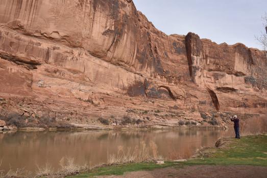 Colorado river from Goose Island CG