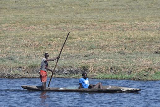Fishermen in the Chobe Valley