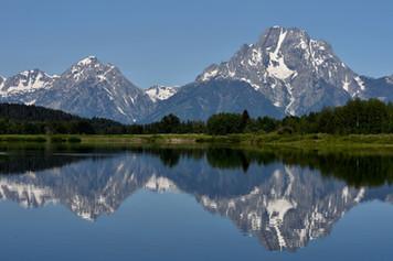 Lake Reflection of the Tetons