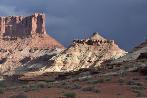 Evening Light in the Desert