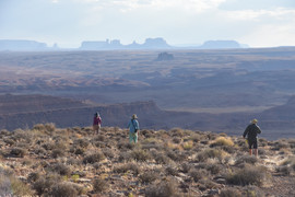 Monument Valley from Raplee Ridge