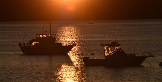Fishing Boats at Islesboro, Maine