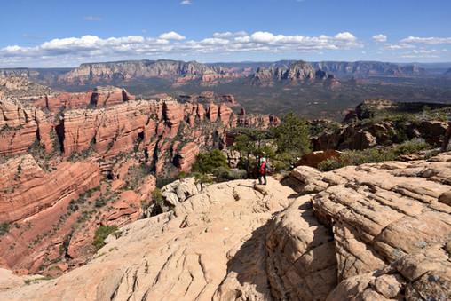 Descending Bear Mountain