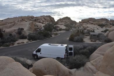 Camped at Jumbo Rocks