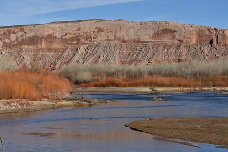 San Juan River near Bluff, Utah