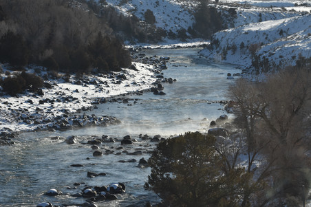 Yellowstone River, Looking Upstream