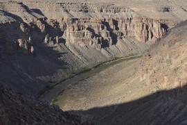 Downstream View from Raplee Ridge