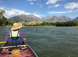 Canoeing the Yellowstone River
