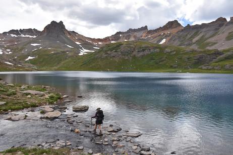 Ice Lake crossing
