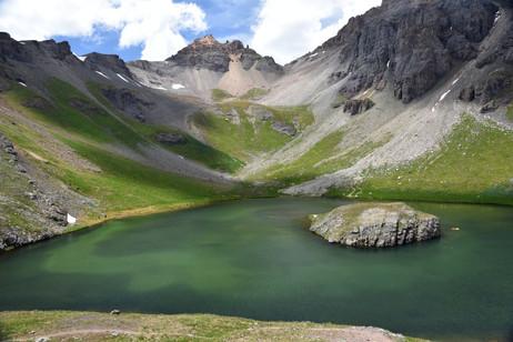 Island Lake and Ducky