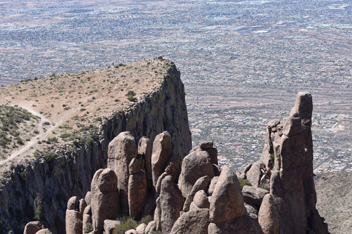 The The Flatiron, Superstition Mountains