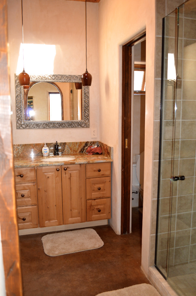 The Casita del Lago Master Bath