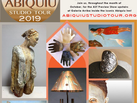 Weekend Update: It's Abiquiú Studio Tour Weekend!
