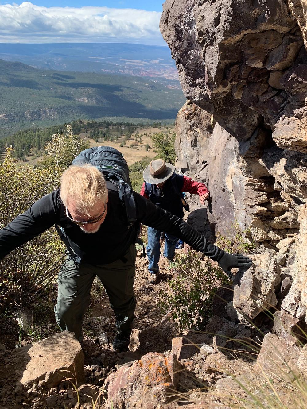Climbing O'Keeffe's Favorite Cerro Pedernal