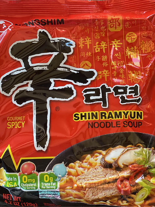 Shin Ramyun Noodle Soup, Spicy