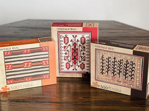 Puzzle - Vintage Navajo Rug Designs