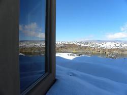 The Casita del Lago Winter View