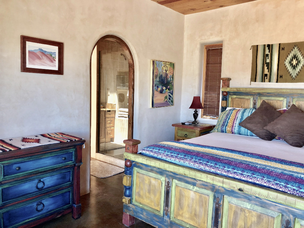 The Casita del Lago Master Bedroom