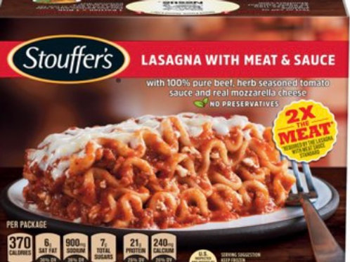 Lasagna - Meat Lovers, Individual Size