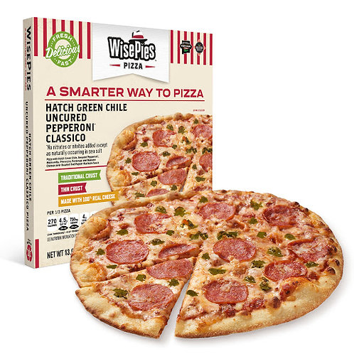 Pizza - WisePies - Hatch Green Chili Pepperoni (2 pack)