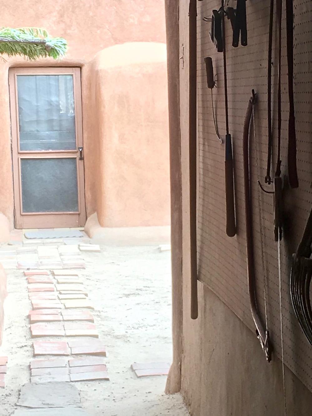 Georgia O'Keeffe Home and Studio in Abiquiu, NM