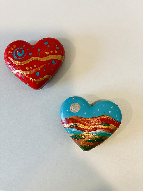 Heart Shaped Magnets