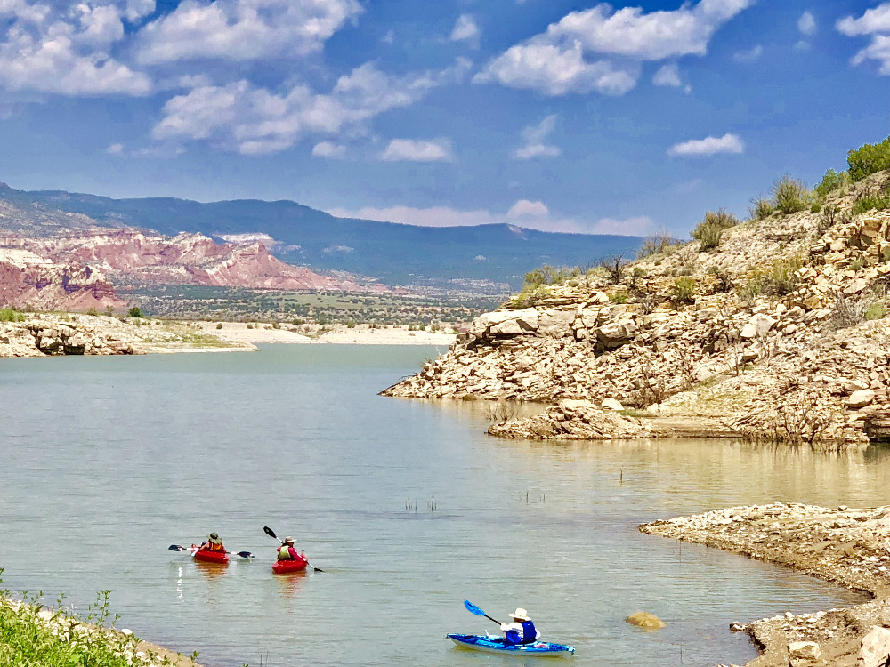 Abiquiú Lake Kayaking