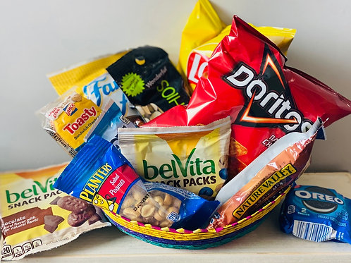 Snacks - choose from chips, cookies, granola bars