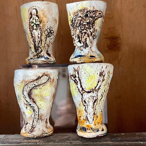 Clay Abiquiu Vessel by Artist Debra Fritts