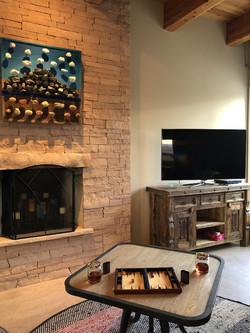 Abiquiú Lake Mesa Living Space