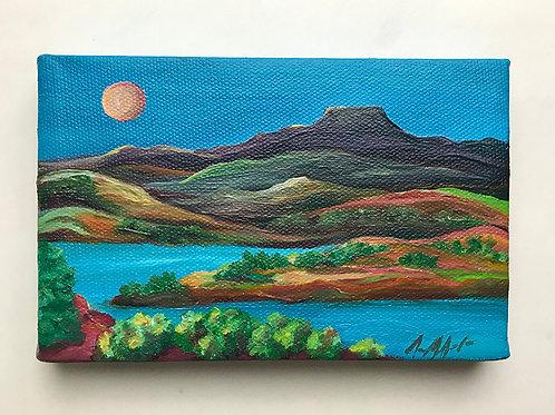 Painting - Original Mini Oil Paintings