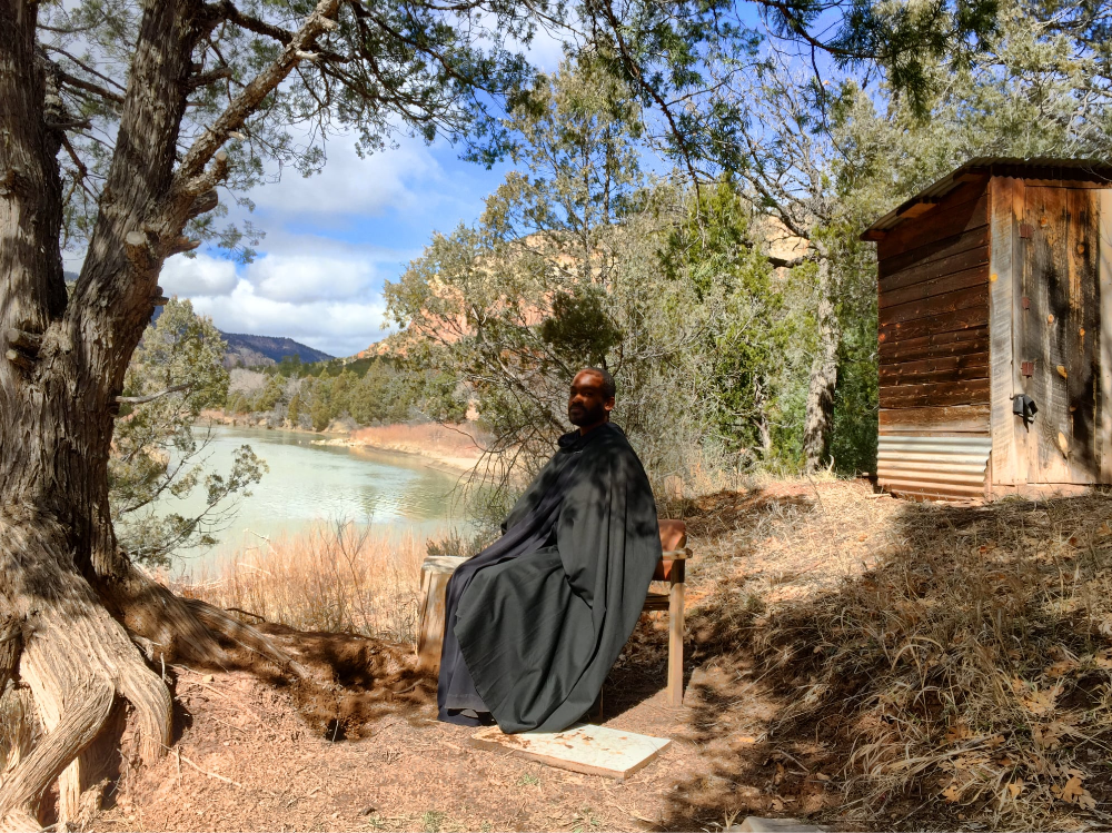 Br. David Bryant, O.S.B at The Monastery of Christ in the Desert