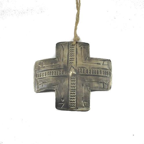 Ornament - Silver Cross
