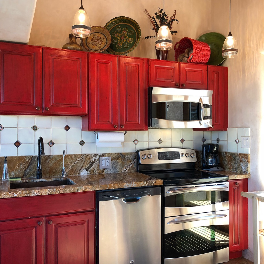 The Casita del Lago Kitchen