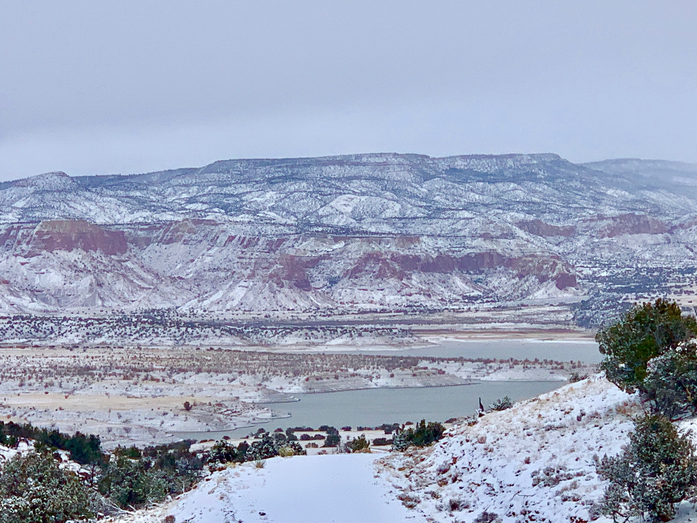 Abiquiu Lake Winter View