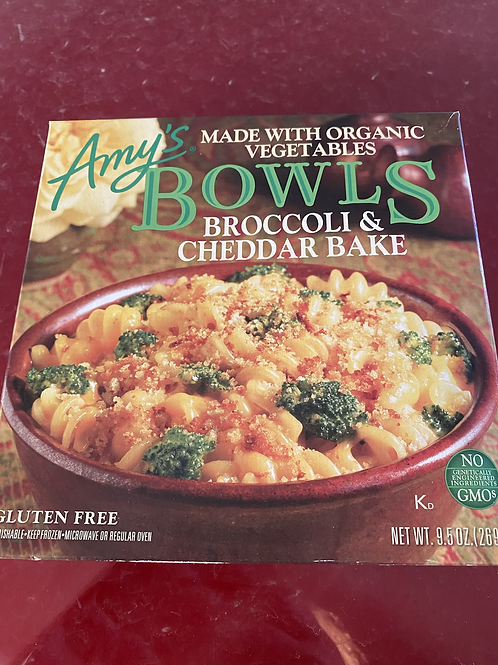 Amy's Bowls - Varieties