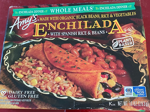 Enchilada - Black Bean, Rice, Vegetable