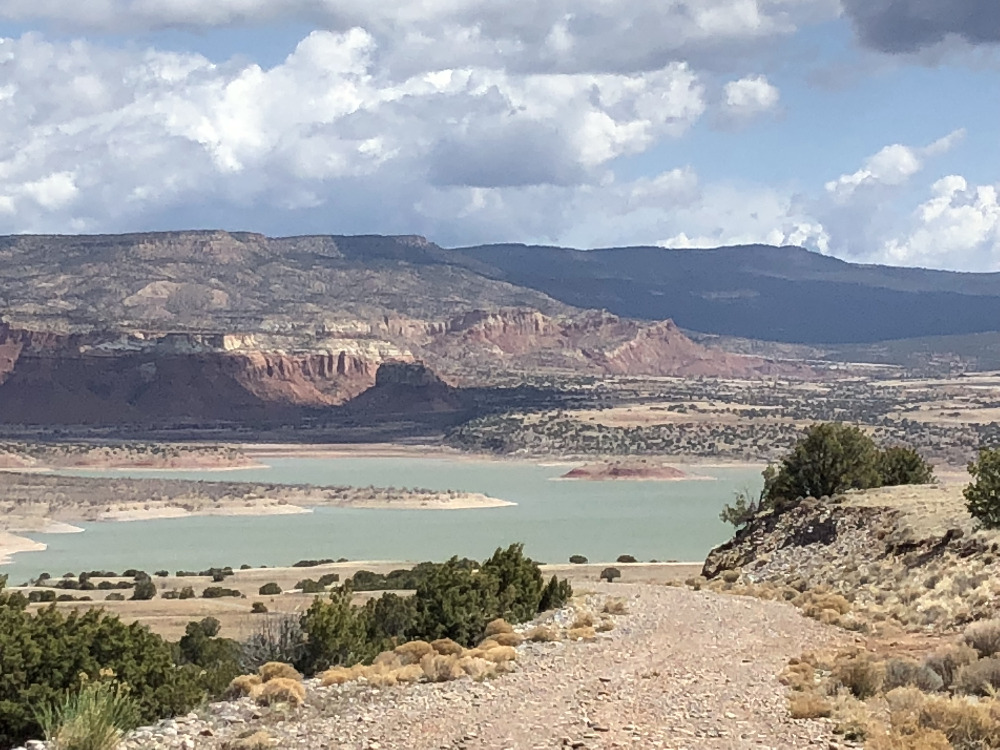 Abiquiu Lake Mesa View