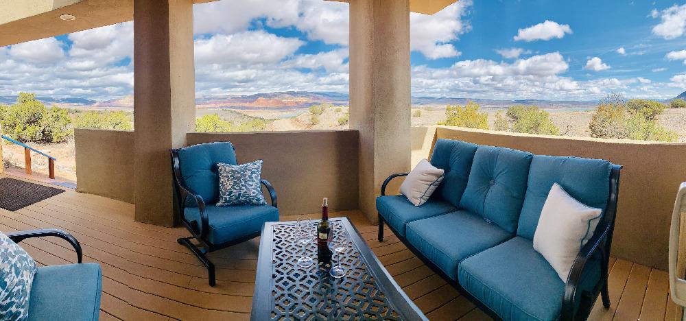 Abiquiú Lake Mesa Deck