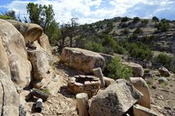 The Casita Stonehenge Firepit