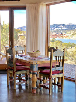 The Casita del Lago Dining