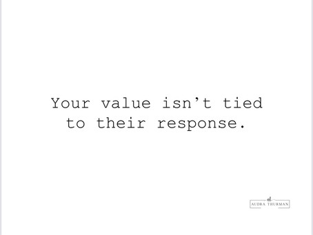 your value.