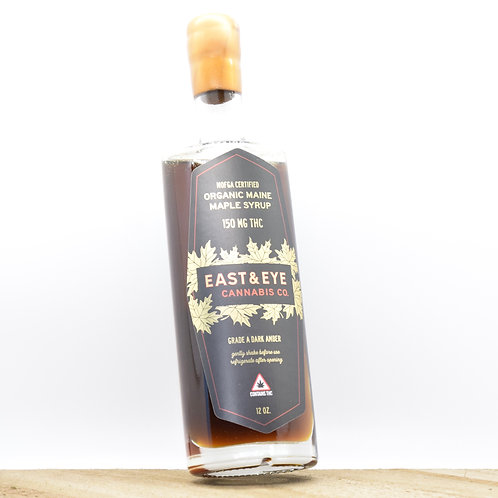 150mg THC Dark Amber Maple Syrup - East & Eye