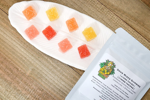 100mg Sour Mix Gummies - Lemon House Organics