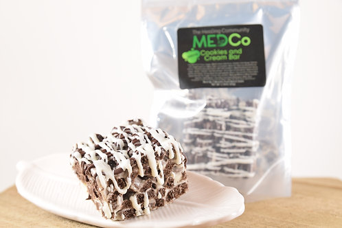 200mg Cookies and Cream Bar - MedCo The Healing Community