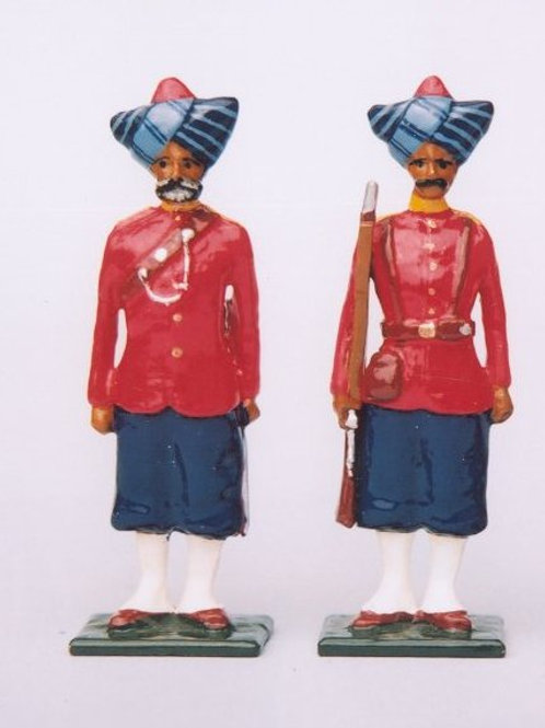 INDIAN ARMY SET 09.  16th Bombay Native Infantry