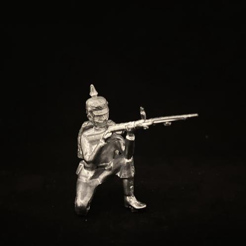AGWP.7Prussian Infantry Kneeling Firing (12 figure unit)
