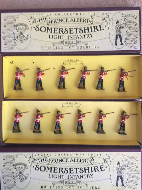 Britains Set 8802 Somerset Light Infantry  x 2