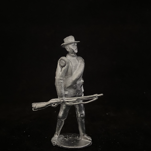 AGWUS.2US  Infantry at trail (rolled Greatcoat) (12 figure Unit)