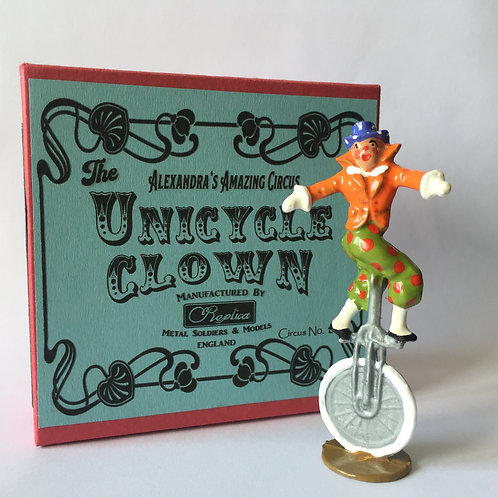Circus No8 Unicycle Clown